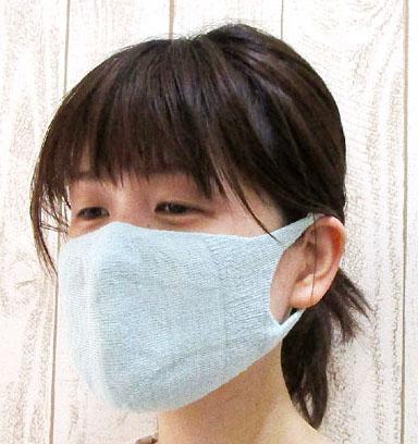 大法紡績 マスク女性